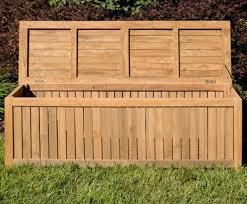 Patio Cushion Storage Bin by Bench Teak Storage Bench Balanced Lawn Storage Containers U201a Fame