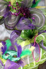 mardi gras mesh mardi gras deco mesh wreath big s