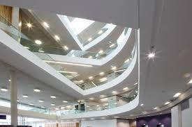 Rockfon Mono Acoustic Ceilings by Rockfon Project Rochdale Borough Council Accentuating