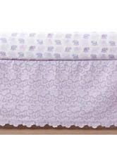 nursery bedding in brand pottery barn kids color purple ebay