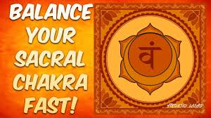 sacral chakra location balance your sacral chakra super fast subliminal hypnosis