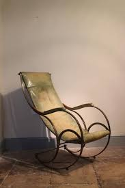 Leather Rocking Chair Late 19th Early 20th Century Leather Rocking Chair Furniture