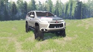 mitsubishi pajero sport 2014 mitsubishi pajero sport for spin tires