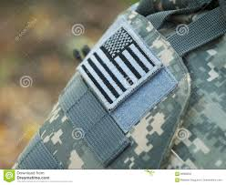 Uniform Flag Patch Us Flag Sleeve Patch Stock Photo Image Of Uniform Country 69968004
