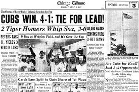 chicago cubs w flag history visualized chicago tribune