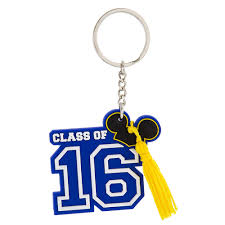 graduation keychain your wdw store disney key chain ring graduation class of 2016