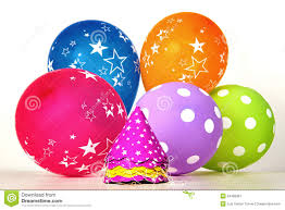 party items vibrant party items stock image image of balloon 34468367