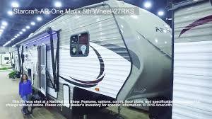 Starcraft Rv Floor Plans by Starcraft Ar One Maxx 5th Wheel 27rks Youtube