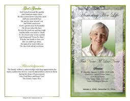 sles of memorial programs 28 template for funeral program blank funeral program