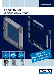 Window Technology Aluminium Window Emka Pdf Catalogue Technical Documentation
