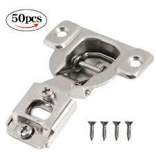 how do i adjust cabinet hinges details about 50 pack 3 way adjust 1 2 overlay concealed cabinet compact door hinge w screws