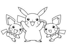 pokemon color pages pikachu pokemon coloring pages pikachu and frien color pages pinterest
