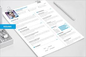 creative resume template free 50 beautiful free resume cv templates in ai indesign psd formats