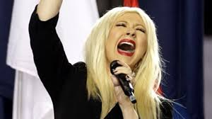 Christina Aguilera Meme - super bowl christina aguilera flubs national anthem mangles star