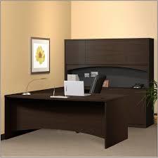 U Shaped Home Office Desk by U Shaped Desk With Hutch Canada Desk Home Design Ideas