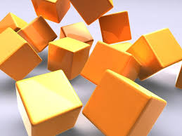 3d gold cubes free ppt backgrounds for your powerpoint templates