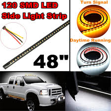 Auto Led Light Strips Aliexpress Com Buy 48 Inch Led Car Styling Rear Turn Signal Led