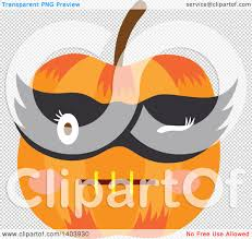 pumpkin mask clipart transparent background collection