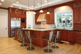 Ideas For Kitchen Islands In Small Kitchens 52 Enticing Kitchens With Light And Honey Wood Floors Pictures
