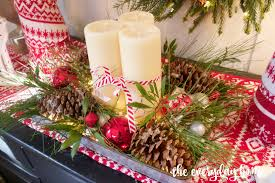 christmas vignette farmhouse style the everyday home