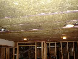 Basement Ceiling Insulation Sound by Ceiling Sound Insulation Products Home Design Ideas