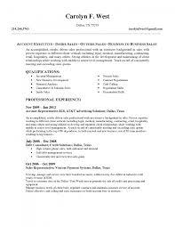 Senior Level Resume Samples by Resume Account Executive Resume Sample