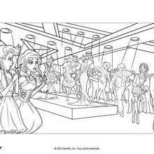 Coloriages Barbie et la Magie de la Mode  32 coloriages Barbie