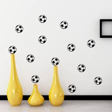 Kids Room Decals by 20 Football Wall Sticker Home Decor Kids Room Soccer Ball Vinyl