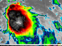 Surface Weather Map Flooding In Louisiana Cimss Satellite Blog