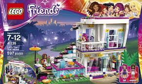 lego house tutorial guitar easy amazon com lego friends livi s pop star house 41135 toys games