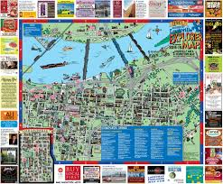 Usa Tourist Attractions Map by Downtown Louisville Map Downtown Louisville Ky Usa Mappery