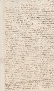otis siege social mhs collections letter from warren to mercy otis