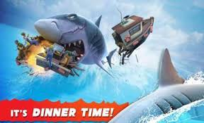 download game hungry shark evolution mod apk versi terbaru hungry shark evolution 5 8 0 apk mod mega mod android