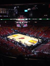 american airlines arena section 305 row 5 seat 1 miami heat