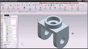 siemens nx cad basic modeling training tutorial for beginner 1