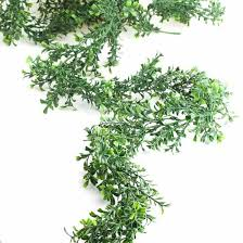 artificial boxwood garland artificial greenery floral supplies