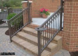 home design 25 best ideas about metal stair railing on
