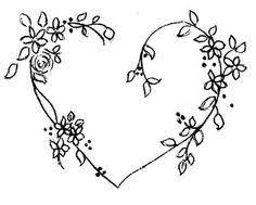 free heart embroidery pattern dekoraciooo hand