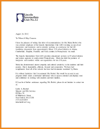 Reference Letter York how to write a recommendation letter for previous employee