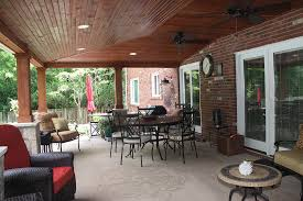 Outdoor Covered Patio Design Ideas by Lighting Design Outdoor Covered Deck Recessed Can Interior Design