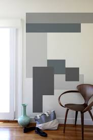 Color In Interior Color Blocking Wall Decals By Mina Javid For Blik Wall Decals