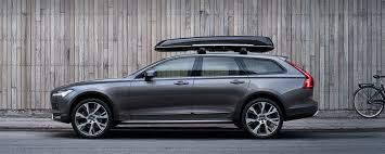 2017 volvo v90 cross country offers comfort style and class in a