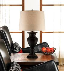 classic style living room decor with floor lamp table attached