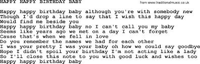 kris kristofferson song happy happy birthday baby txt lyrics and