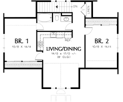 two bedroom house plans 2 bedroom house plans with garage great 12 plan 69395am two