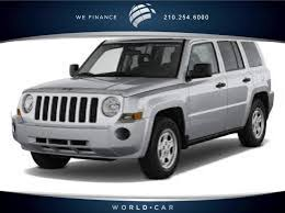 patriot jeep used used one owner 2017 jeep patriot sport fwd san antonio tx near