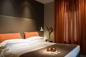 chambre parentale taupe décoration deco chambre orange et taupe 31 etienne