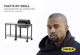 Ikea Furniture Meme - what kanye west s ikea furniture line will look like according to