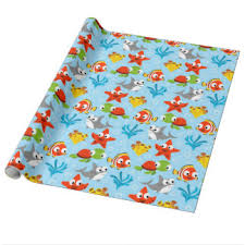 kids wrapping paper children wrapping paper zazzle