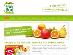 fruit delivery service the fruit box the office fruit delivery service in leeds west